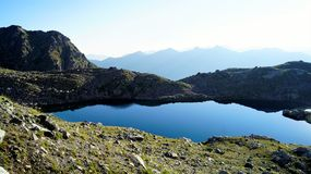 O lago da montanha de Sófia Imagens de Stock Royalty Free