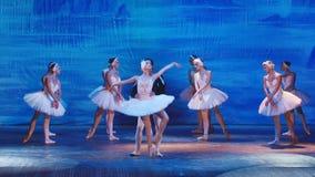 O Lago das Cisnes - estrela do bailado de Moscou vídeos de arquivo