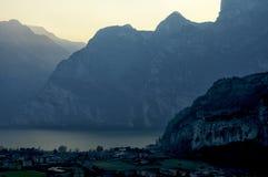 O Lago Di Garda, Itália Imagem de Stock
