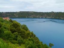 O lago do bleu na montagem Gambier Fotografia de Stock Royalty Free