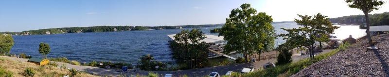 O lago do Ozarks foto de stock