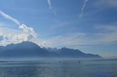 O lago Genebra Fotos de Stock