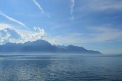 O lago Genebra Imagens de Stock