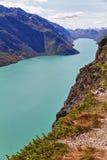 O lago Gjende em Noruega Foto de Stock Royalty Free