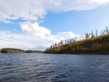 O Lago Ladoga Imagem de Stock Royalty Free