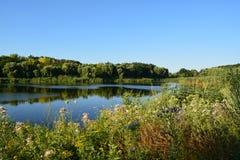 O lago Poltava Fotografia de Stock