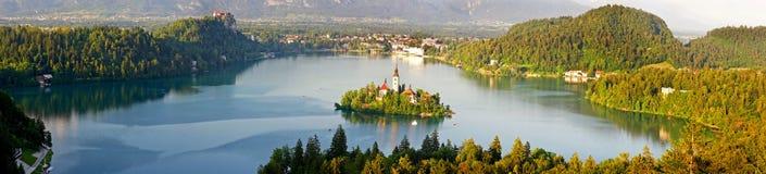 O lago sangrou Fotografia de Stock Royalty Free