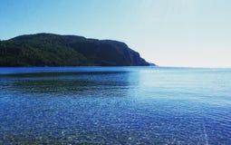 O Lago Superior imagens de stock royalty free