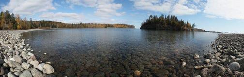 O Lago Superior Foto de Stock Royalty Free