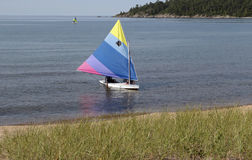 O Lago Superior, Marquette, Michigan imagem de stock royalty free