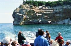 O Lago Superior, Michigan Imagem de Stock