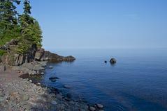 O Lago Superior Minnesota Fotografia de Stock