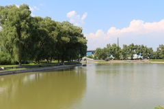 O lago Weiming Imagens de Stock Royalty Free