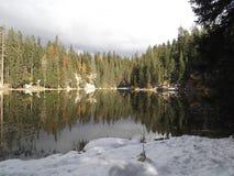 O lago Zminje imagem de stock royalty free