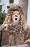 O leão Cowardly 2 fotos de stock royalty free