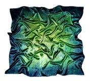 O lenço de seda Textura da seda fotos de stock