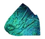 O lenço de seda Textura da seda foto de stock