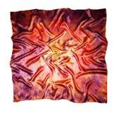 O lenço de seda Textura da seda fotos de stock royalty free