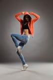 O levantamento do dançarino Fotografia de Stock Royalty Free