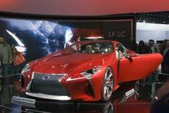 O Lexus LF-LC fotos de stock royalty free