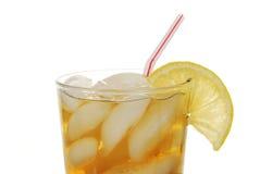 O limão congelou o chá imagem de stock
