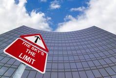 O limite do céu Imagens de Stock Royalty Free