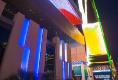 O Linq Las Vegas Foto de Stock Royalty Free