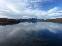 O litoral bonito em Noruega do norte Imagem de Stock Royalty Free