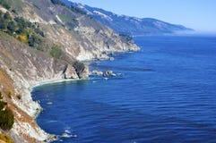 O litoral Califórnia de Big Sur imagem de stock