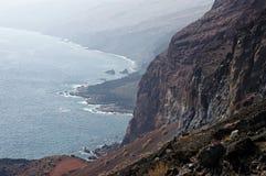 O litoral do EL Hierro spain fotos de stock