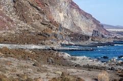 O litoral do EL Hierro spain fotos de stock royalty free