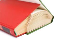 O livro é encerrado em um livro que representa as escadas das páginas Escadaria e uma casa dos livros fotos de stock
