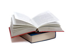 O livro aberto Foto de Stock Royalty Free