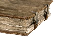 O livro antigo Foto de Stock Royalty Free
