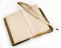 O livro antigo Imagens de Stock Royalty Free