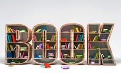 O livro arquiva Fotografia de Stock