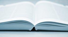 O livro azul Fotografia de Stock