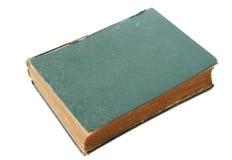 O livro de couro velho isolou-se Fotos de Stock Royalty Free