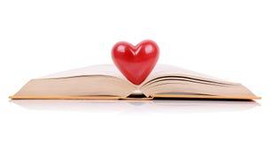 O livro do amor Fotos de Stock