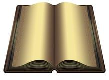 O livro dourado Foto de Stock