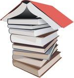 O livro isolou-se ilustração do vetor