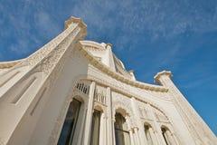 O local de culto de Baha'i em Chicago imagens de stock royalty free