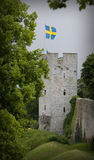 O local do patrimônio mundial do unesco visby em sweden.GN Fotos de Stock