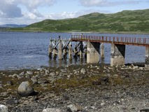 O Loch Spelve, ilha de ferventa com especiarias Foto de Stock Royalty Free