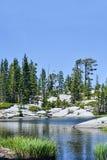 O Loch superior leven o lago Imagens de Stock