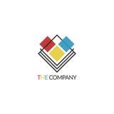 O logotipo da empresa Foto de Stock Royalty Free