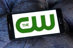 O logotipo da rede do cw Imagens de Stock Royalty Free