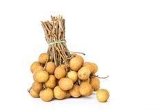 O longan é fruto tropical Fotos de Stock Royalty Free
