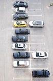 O lote de estacionamento Fotos de Stock