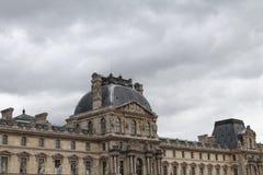O Louvre em Paris, França Fotos de Stock Royalty Free
